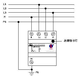 模块式三相电源防雷器